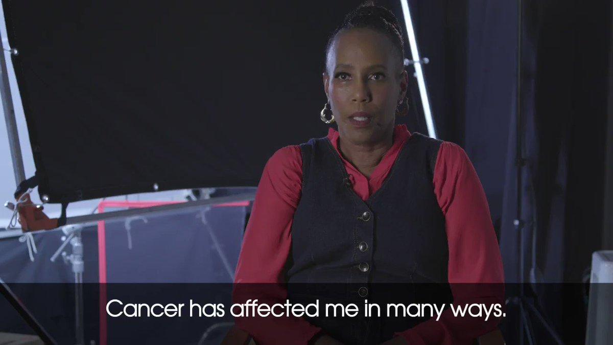 Image for the Tweet beginning: Meet Lori, a cancer survivor,