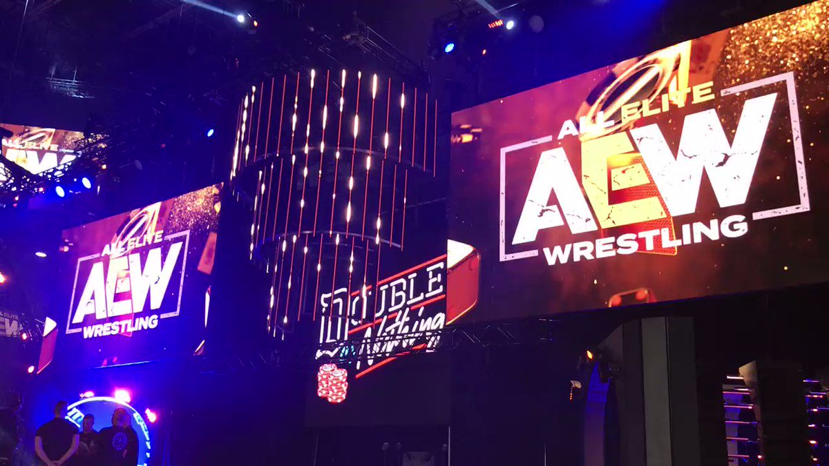 Image for the Tweet beginning: Let the countdown to #AEWDoubleOrNothing