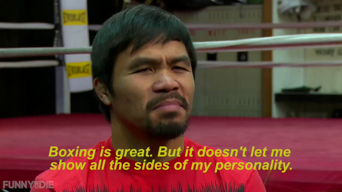 It takes a lot to enter the world of Pro Wrestling as Manny Pacquiao finds out the hard way.  Watch the full video: https://www.funnyordie.com/2015/1/23/17731764/manny-pacquiao-becomes-a-professional-wrestler …