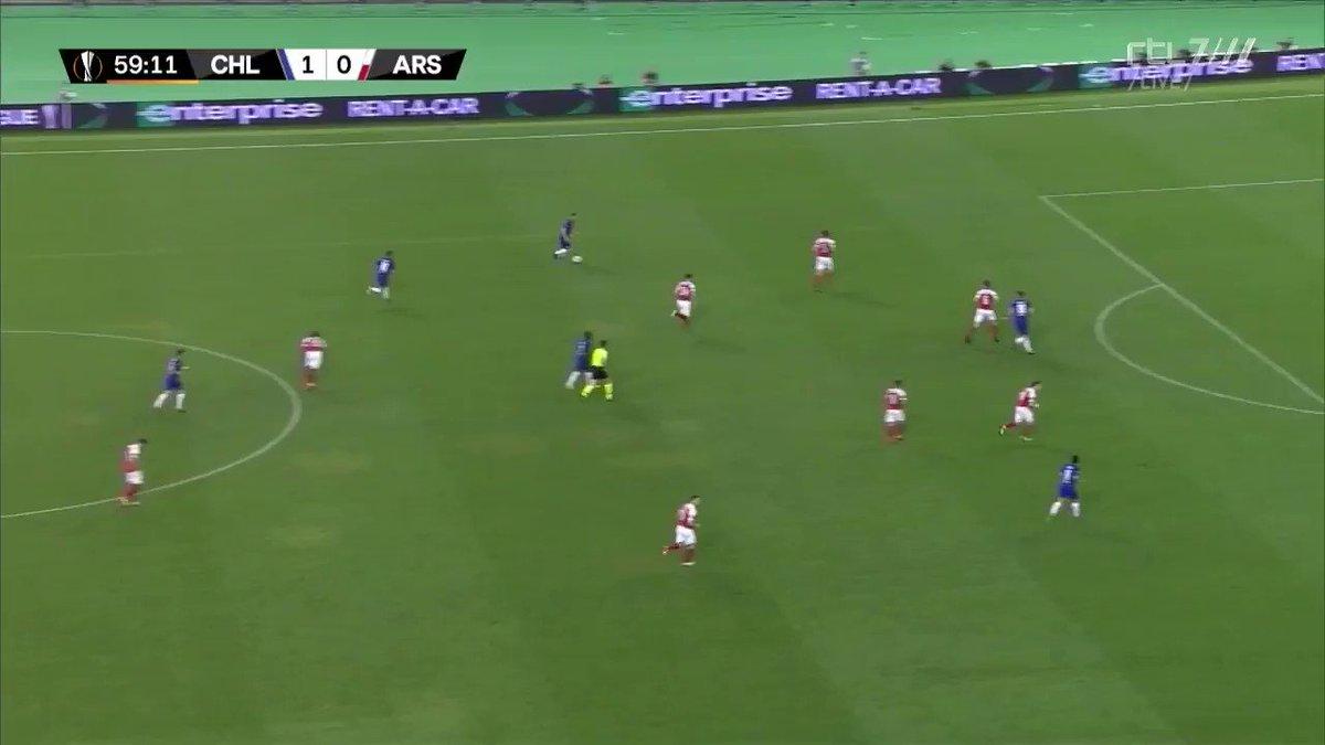 Chelsea - Arsenal (finale Europa League): 2-0 door Pedro