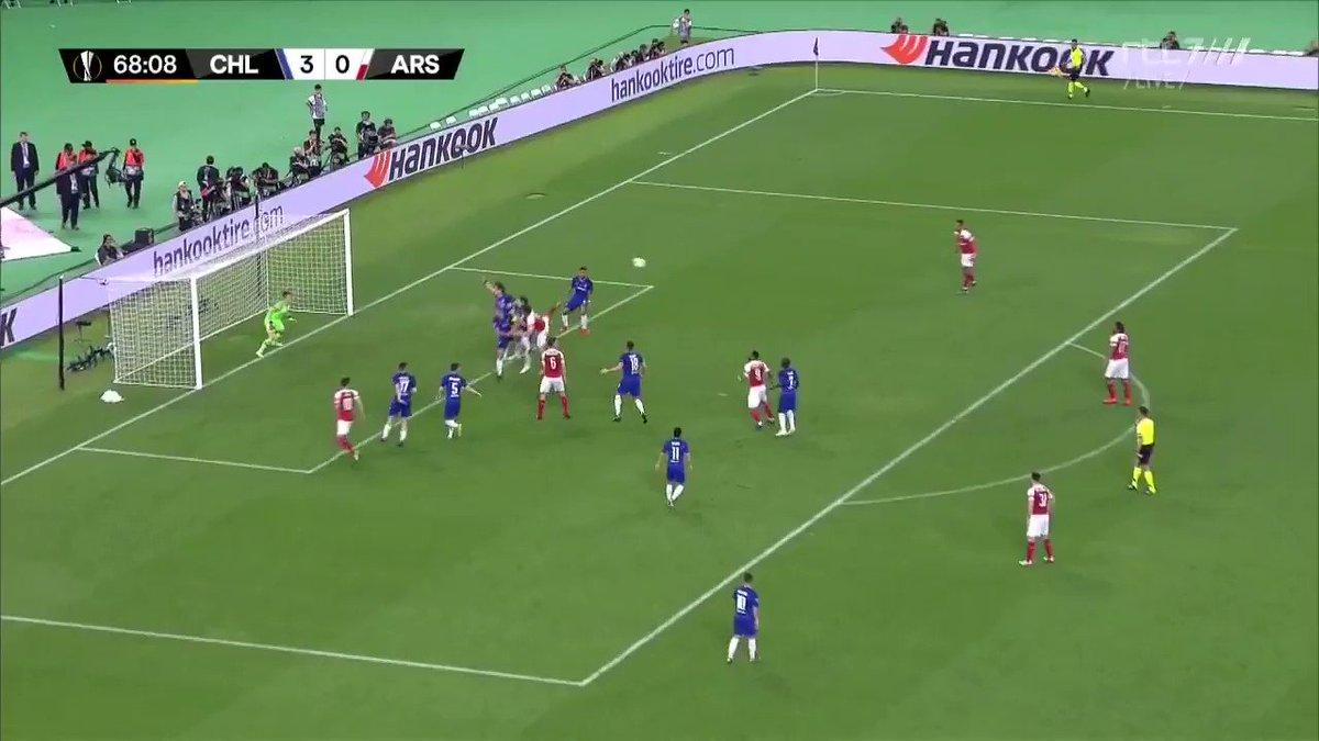 Chelsea - Arsenal (finale Europa League): 3-1 door Alex Iwobi