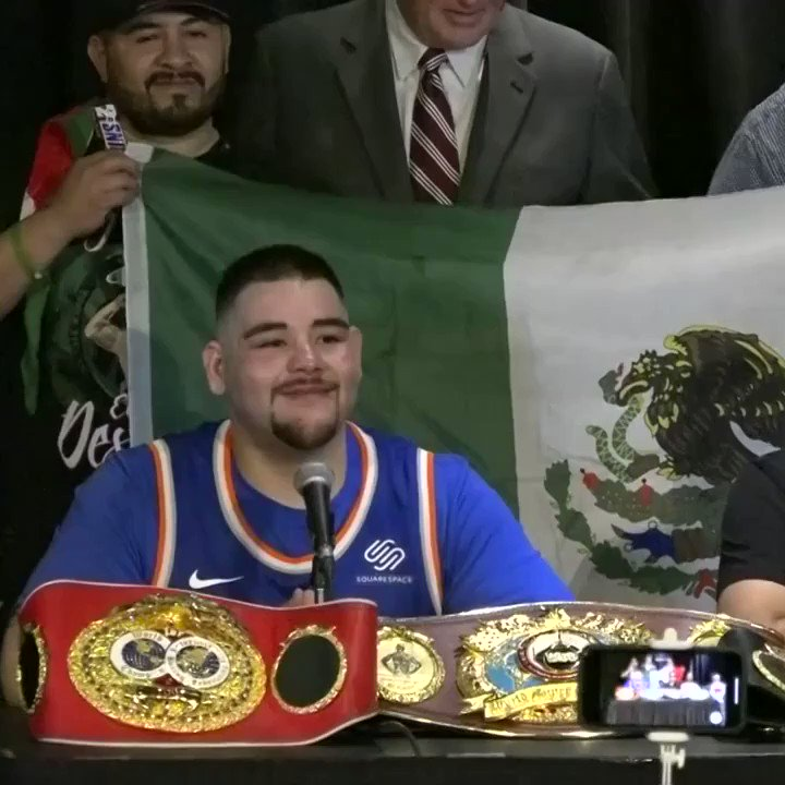 🗣 @Andy_Destroyer1: 'Mom, I love you. We don't have to struggle no more thanks to God!' ❤ #JoshuaRuiz