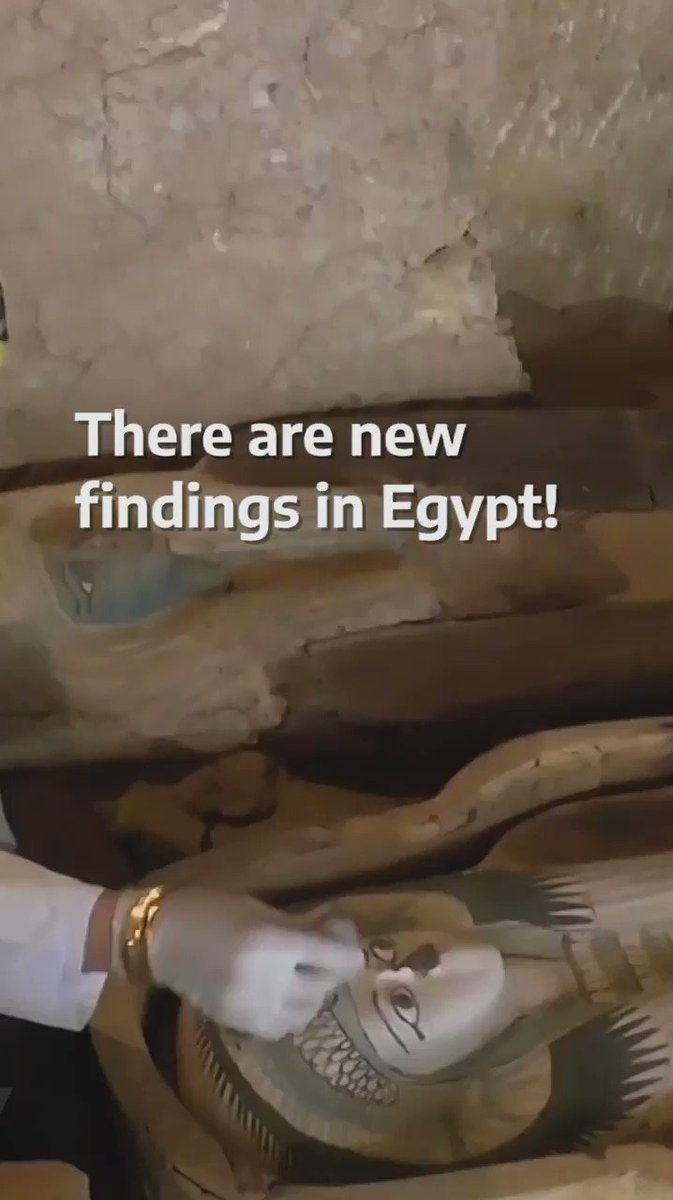 This new discovering is incredible! Two sarcophagi were found intact after 2,500 years 😱