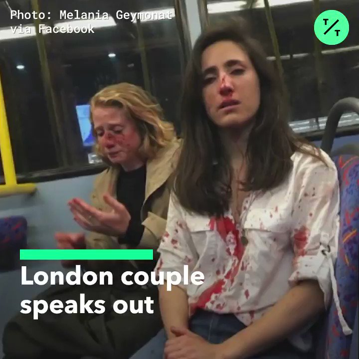 A London couple is speaking out after five teenagers were arrested in connection with a homophobic attack on the two women