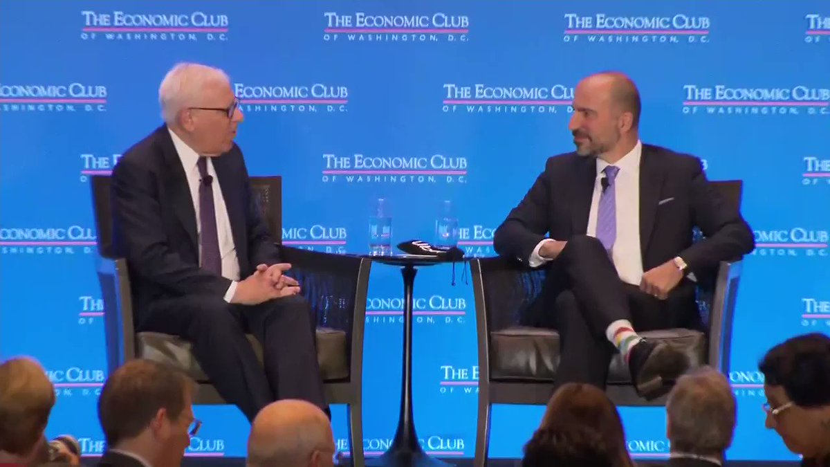 The Economic Club of DC hosts Uber CEO Dara Khosrowshahi.
