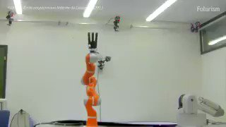 Meet Kuka, a #robotic arm that can catch anything you throw at it. via @futurism |  #ArtificialIntelligence #AI #MachineLearning #ML #Robots #Robotics #BigData #InternetofThings #IoT #Innovation #Video #RT