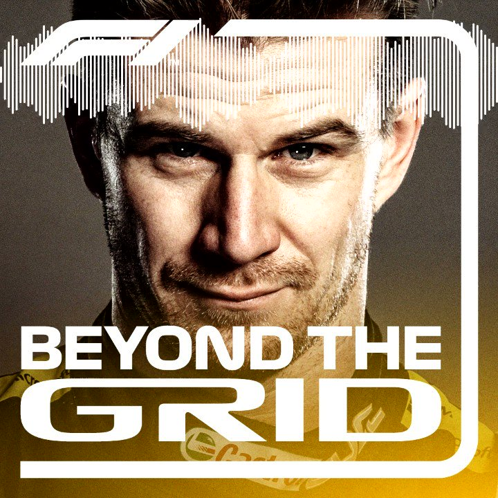 "My first ""@F1 Beyond the Grid"" podcast is online.. had a fun talk about my career to date, winning Le Mans and some private topics.. 😉   Check it out! 🎧 http://f1.com/Hulk-BTG"