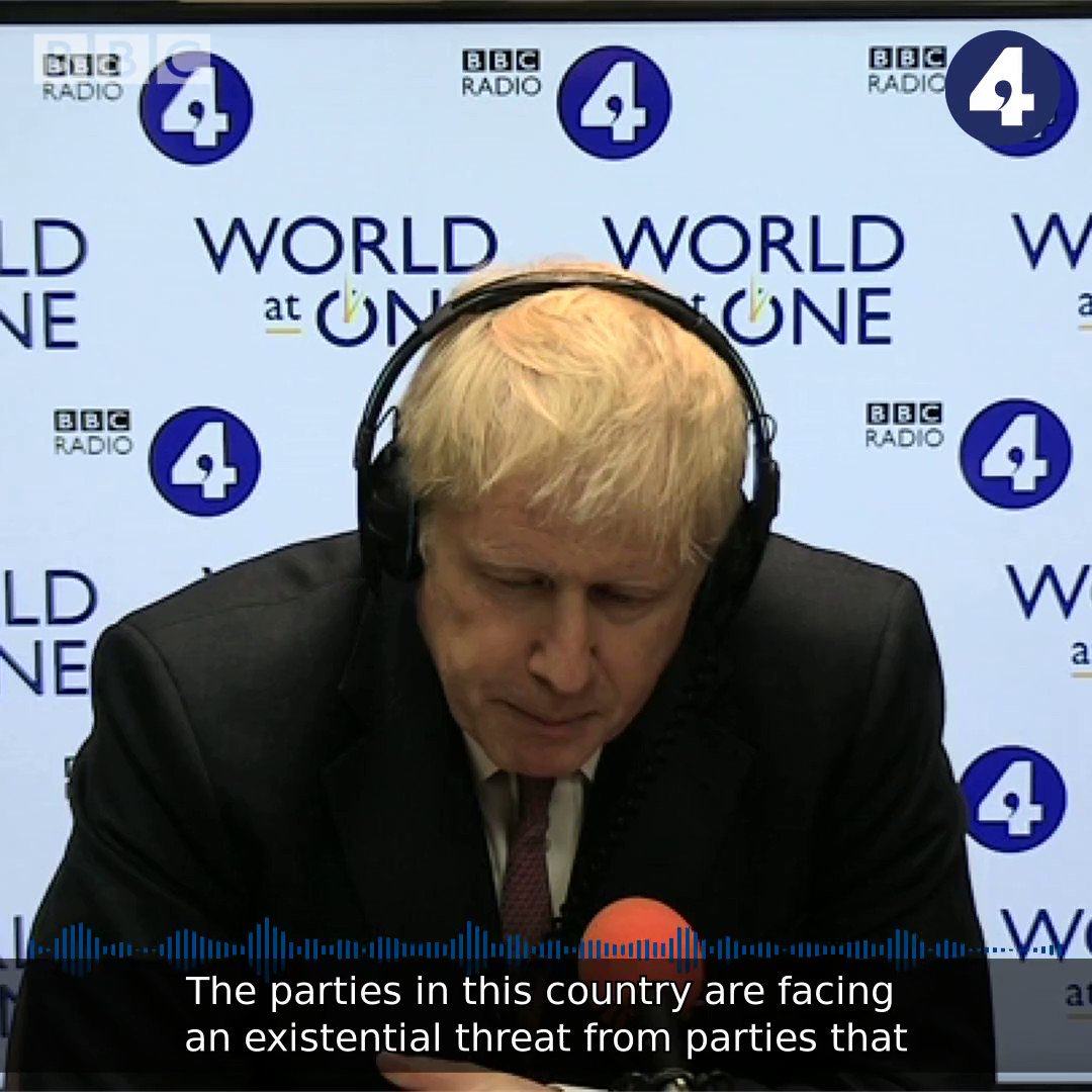 All those that say we should delay [Brexit], risk doing terminal damage to trust in politics – we've got to be out by October 31st The Conservative Leadership candidate @BorisJohnson breaks his silence and talks to @BBCWorldatone bbc.in/2RgrBwY