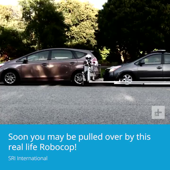 You may be stopped by a robocop soon. https://t.co/KNQn9yDRcc