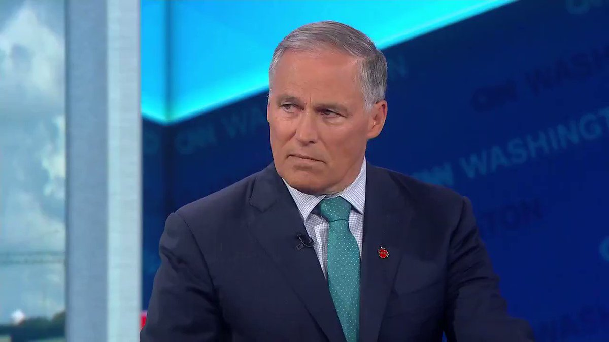Gov. Jay Inslee: I believe the President as weve seen his comments in the last two weeks is forcing the U.S. Congress to bring impeachment proceedings, to give them no choice.