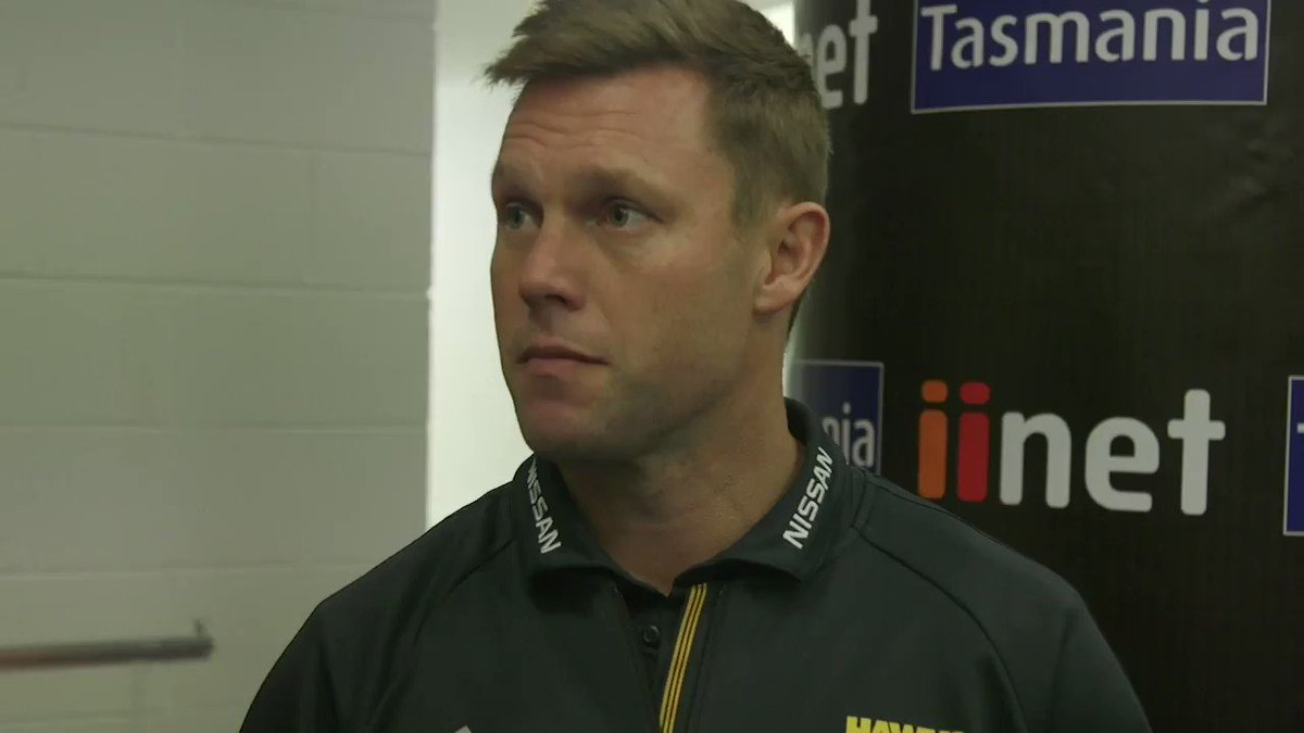 Image for the Tweet beginning: Sam Mitchell addresses Friday night's