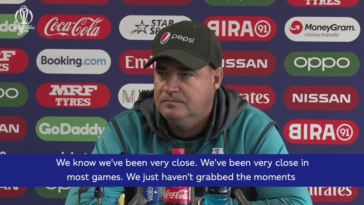 """We just haven't grabbed the moments when they've presented themselves.""Pakistan coach Mickey Arthur looks ahead to his side's massive game tomorrow against India."