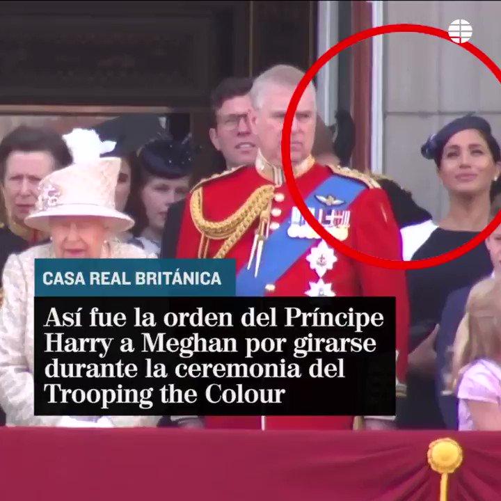 La orden del Príncipe Harry, en público, que no gustó a Meghan Markle