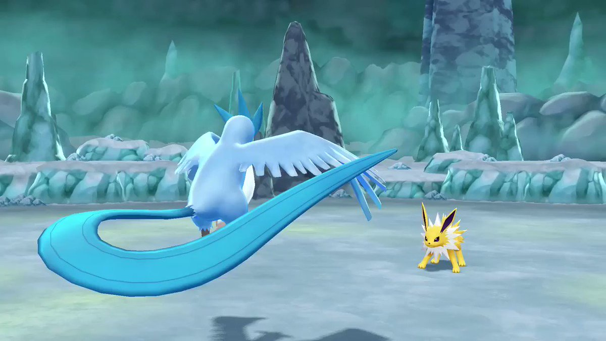 #Pokemon Fact: Look out for this Pokémon during the winter, Trainers! It is said that when Articuno flies by, snow will fall. ❄️