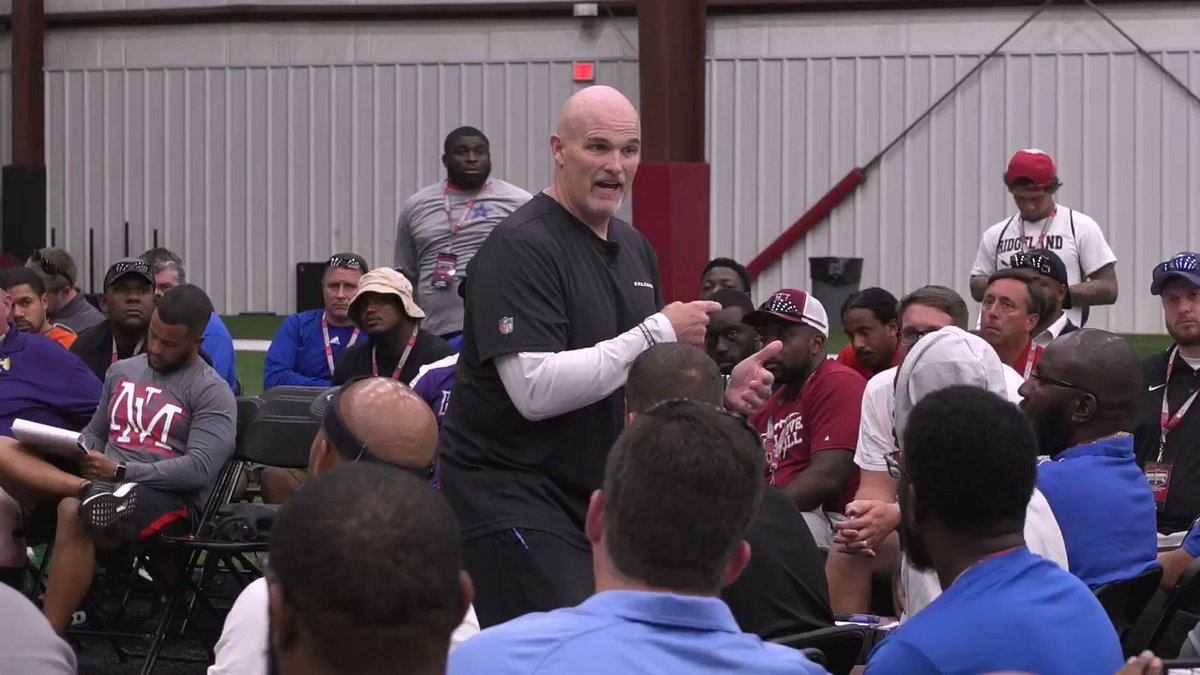 Over 200 high school football coaches, mostly from Georgia, traveled to our facility to learn from DQ and our coaching staff.