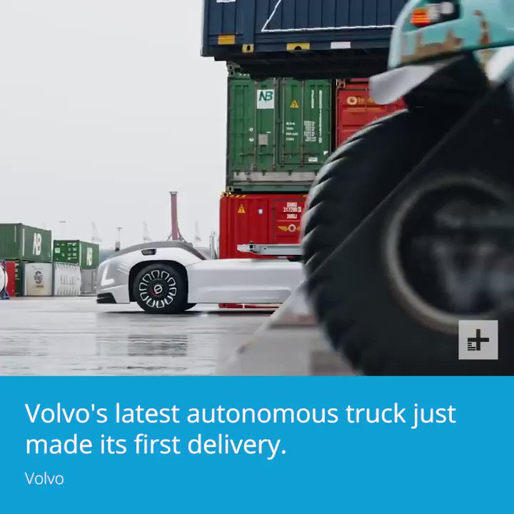. .Volvo's latest autonomous truck just made its first delivery.
