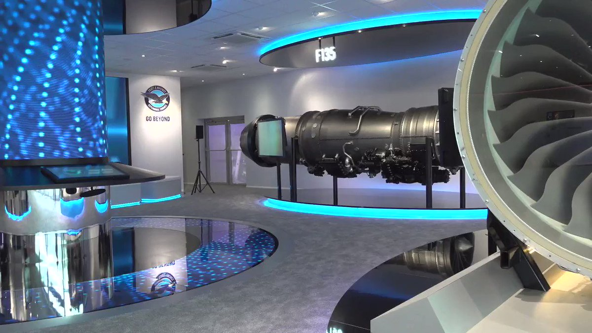 .@prattandwhitney and @CollinsAero are bringing the WOW 🤩 factor to the #ParisAirShow!