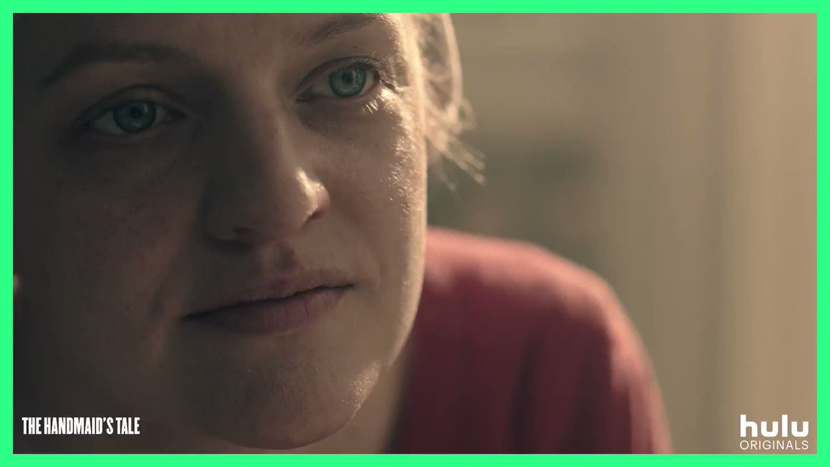 We resist with love. We resist with hope. Episode 5 of the #HandmaidsTale is now streaming, only on @hulu.