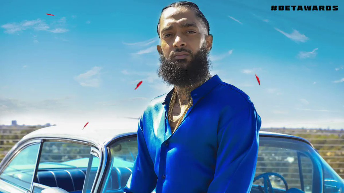 DJ Khaled, YG, John Legend and more will pay tribute to Nipsey Hussle during the 2019 #BETAwards. ❤️ this tweet to get a reminder to catch this star-studded performance only on BET. 🏁