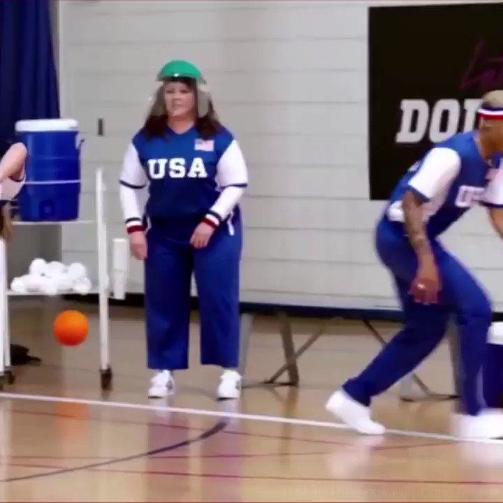 Dodgeball with @MichelleObama, @JKCorden, and @Harry_Styles? Sign me up pls! 💪