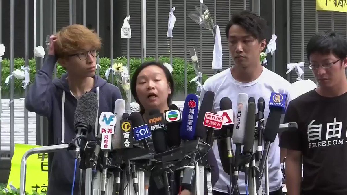 """""""Police dropped dozens of tear gas bombs on the designated protest area""""   Hong Kong's Civil Human Rights Front says they are working with lawyers and witnesses to issue an official complaint against the police #HongKongProtests #香港 #反送中"""