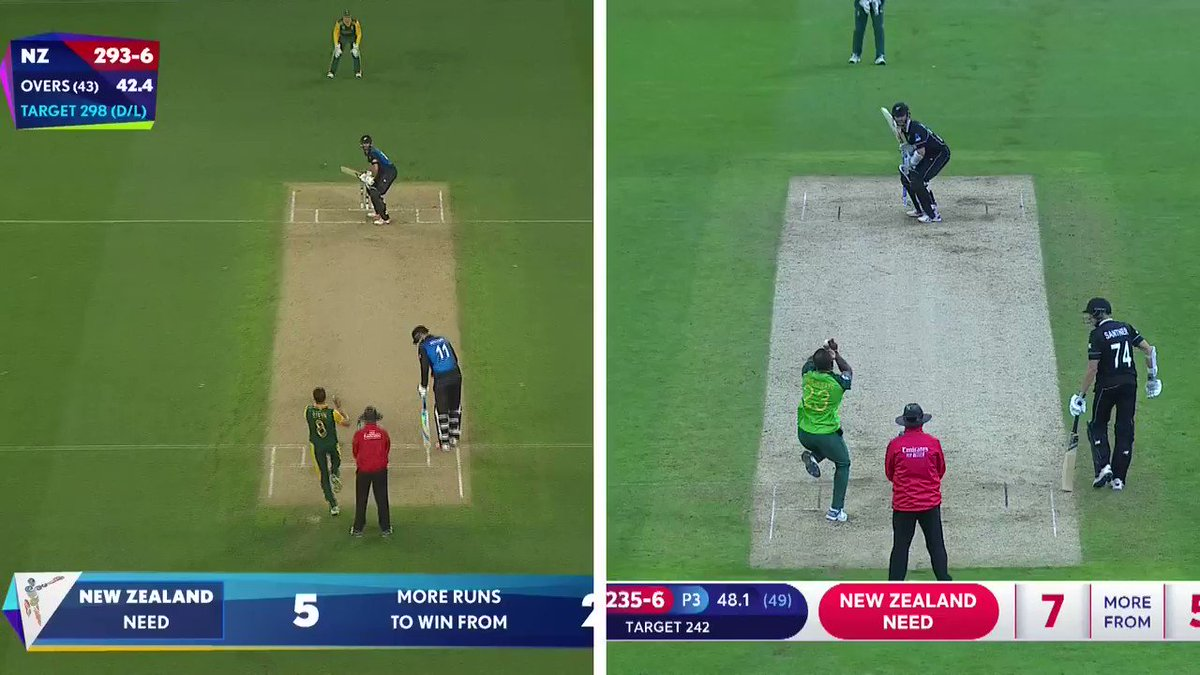 Grant Elliott in #CWC15 or #KaneWilliamson in #CWC19- who did it better? 👀