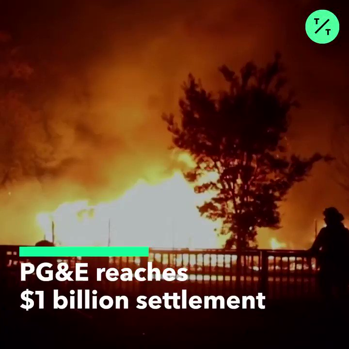 California's biggest utility, PG&E, has agreed to pay $1 billion to local government agencies for wildfire damage