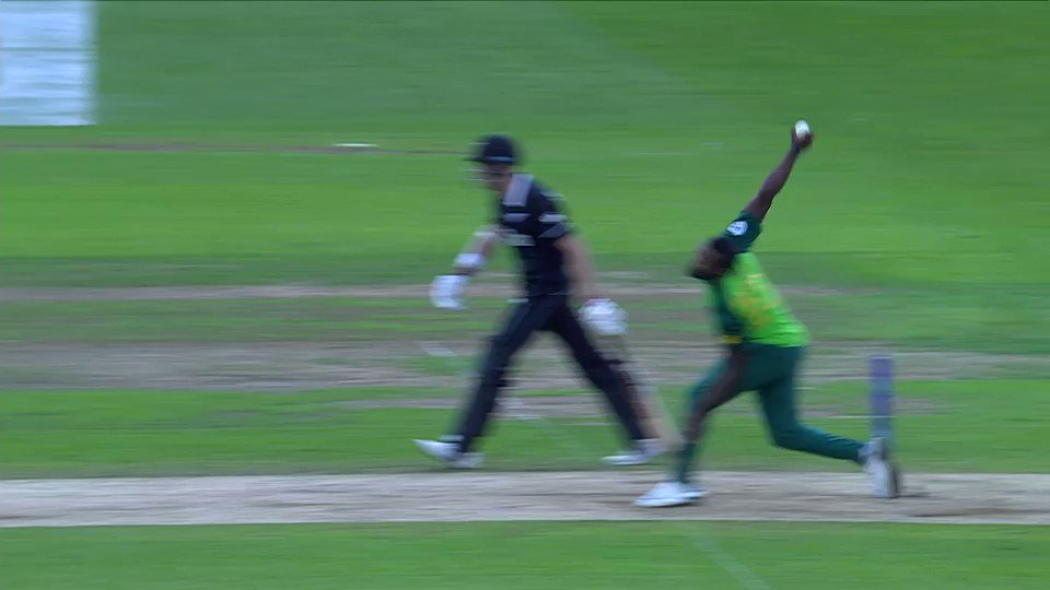 You voted Kane Williamson's century-sealing, score-tying six as the @Nissan Play of the Day in the clash between New Zealand and South Africa.Watch it again, in all it's glory!#CWC19