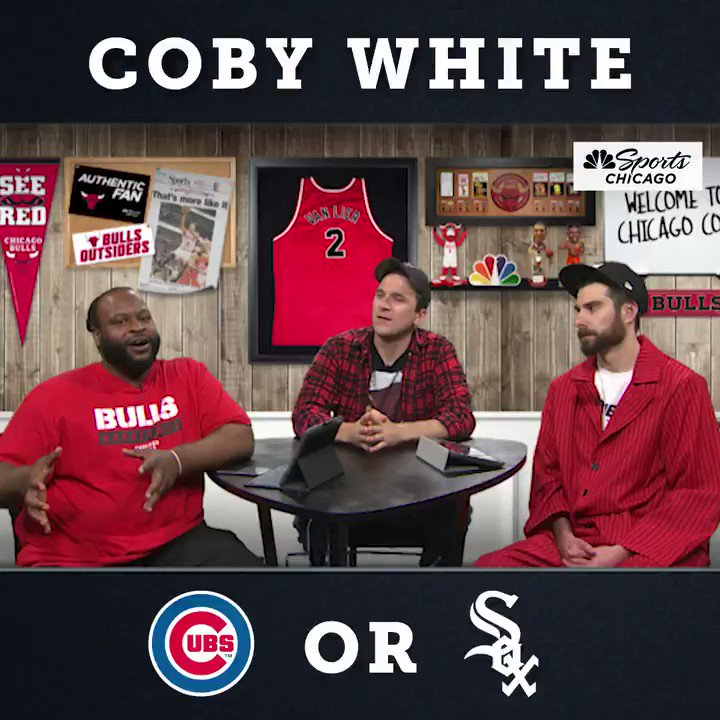 Coby likes the Southside. #wcr #WhiteSox #BullsNation