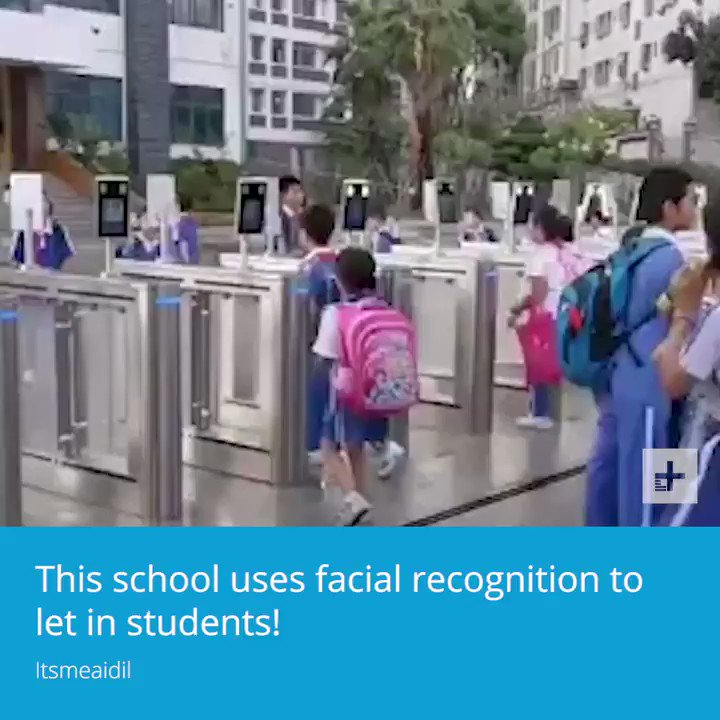 This school is using facial recognition to let in students.