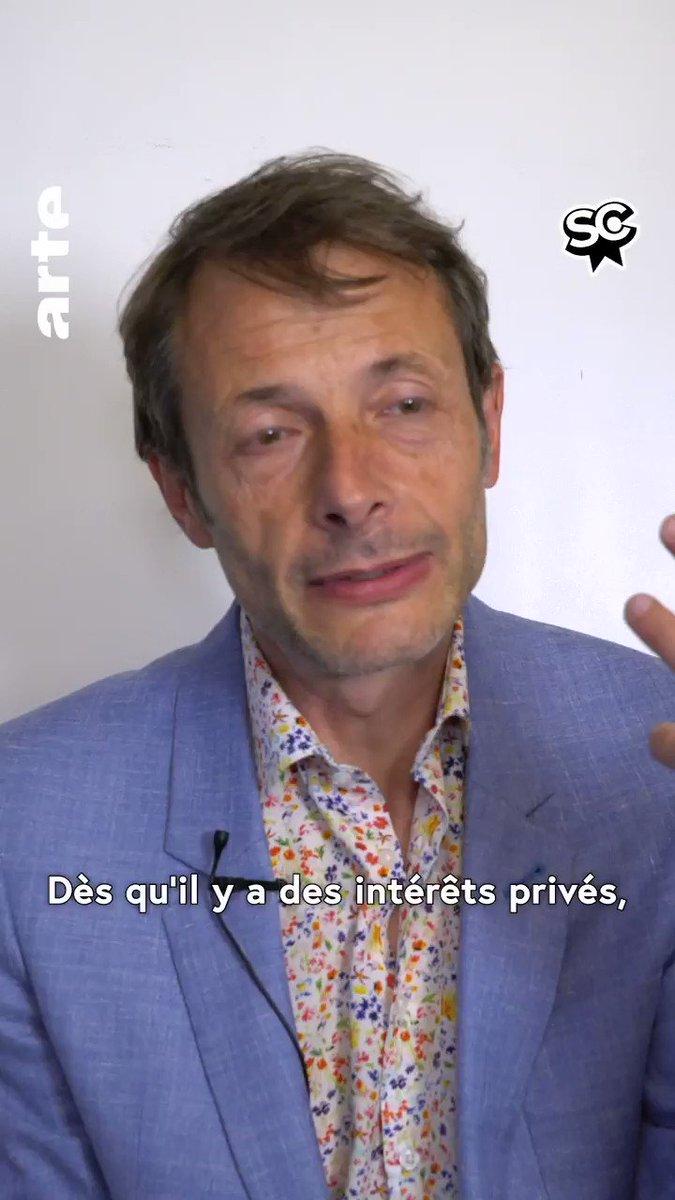 💬 « Il ne faut pas laisser le combat contre les lobbies aux seuls politiques ». Rencontre avec Jean-Xavier de Lestrade et Alix Poisson. « Jeux d'influence », à voir ici ➡️ http://so.arte/JeuxDinfluence_3_2…