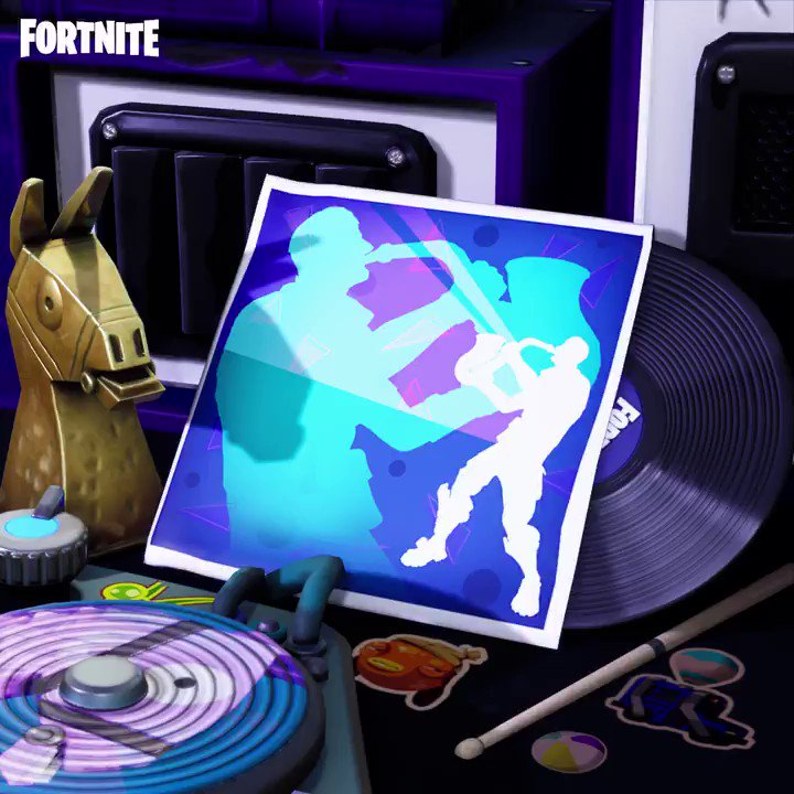 Press play and phone it in. Grab the Saxy Groove music track in the Item Shop now!