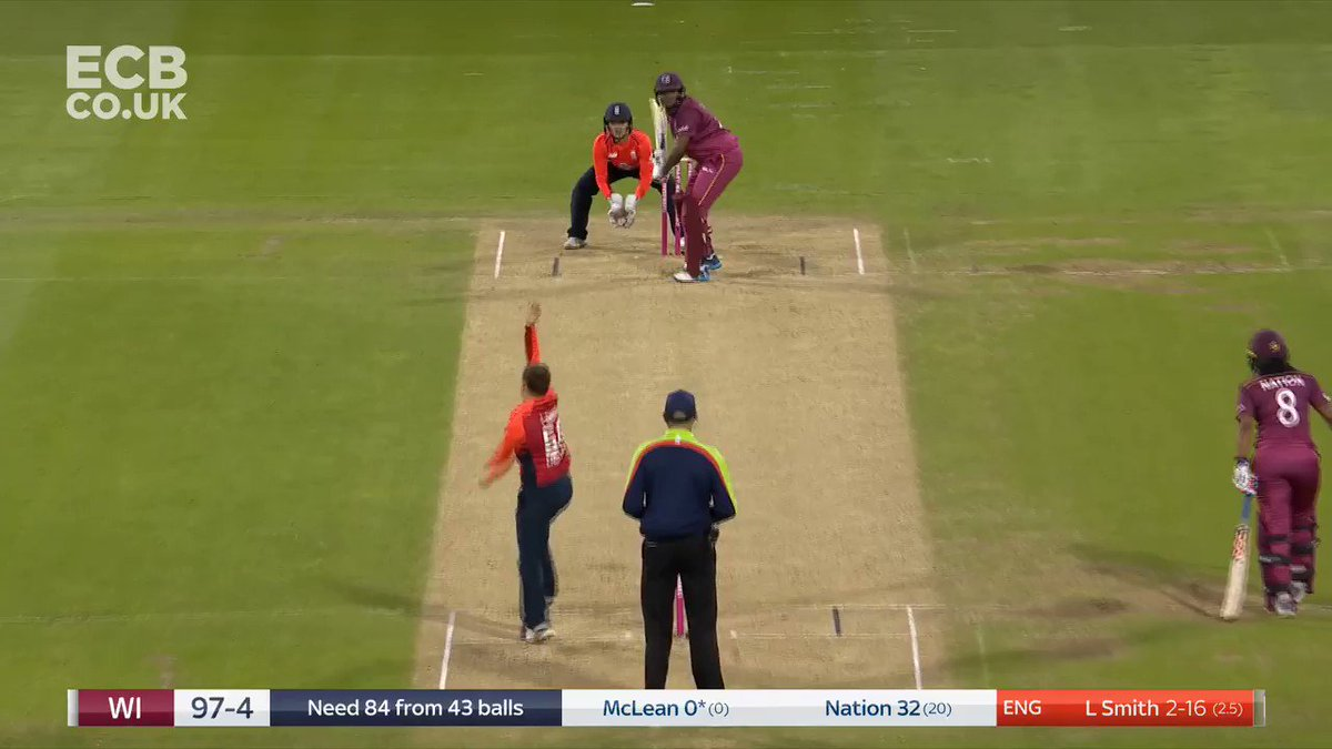 Nation run out! Nice work @fwilson07 - West Indies 102-5 nowMatch centre: http://ms.spr.ly/6018TKZK4   #EngvWI
