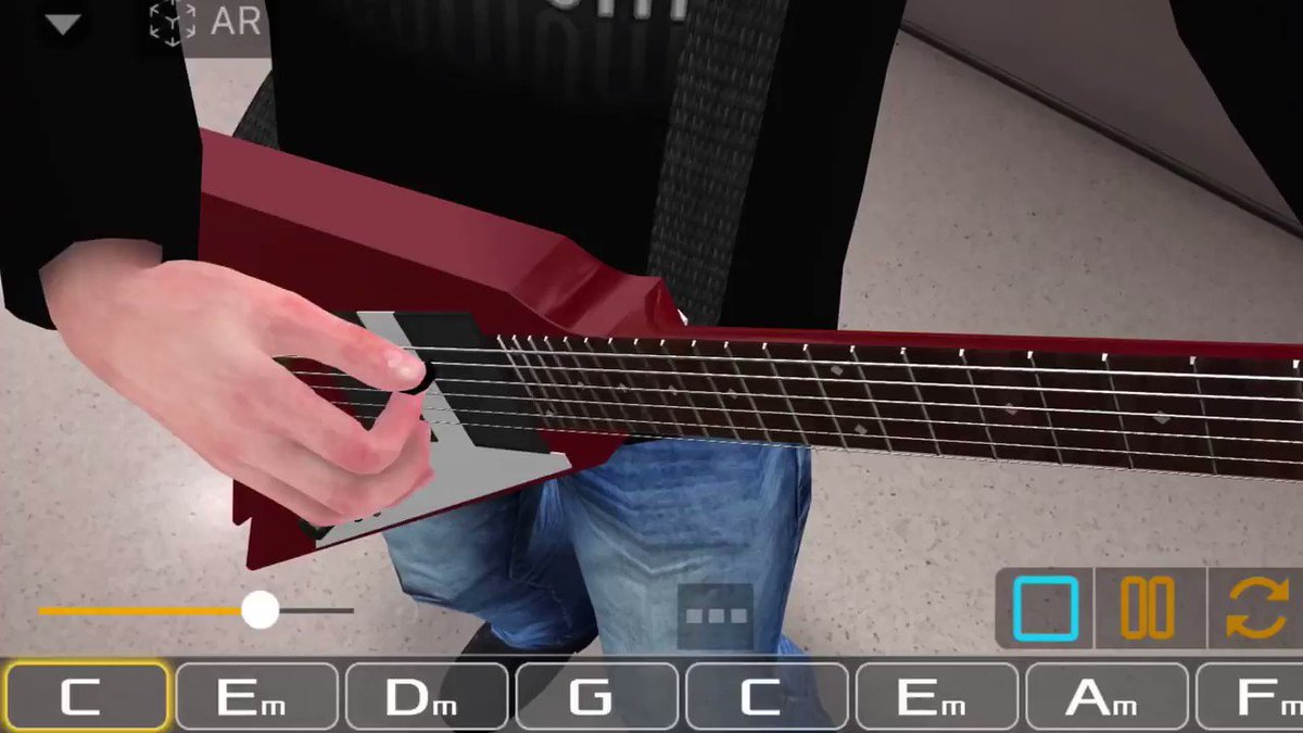 Master guitar chords with the power of AR.Get started, rock star 👩‍🎤👨‍🎤🎸https://t.co/3AdtQaRes0