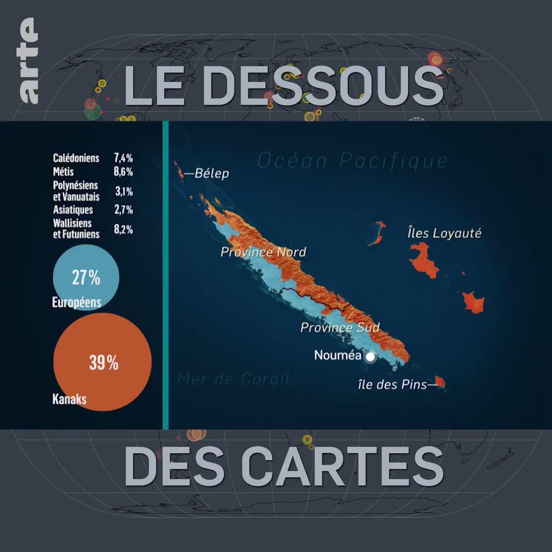 La Nouvelle-Calédonie présente une riche mosaïque ethnique, résultat de ses peuplements successifs ⤵ http://so.arte/LDDC