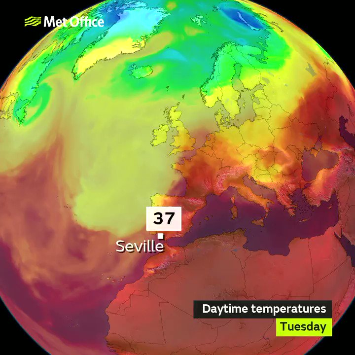 Europe heatwave: Temperatures soar as heat near record levels