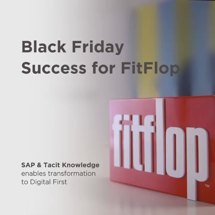 Want to hear how #FitFlop used a 'digital first, customer first' strategy to become one of the world's fastest growing footwear brands? Join us in partnership with @SciVisum_Ltd and @tacitknowledge to find out more: http://sap.to/6010ESwzw