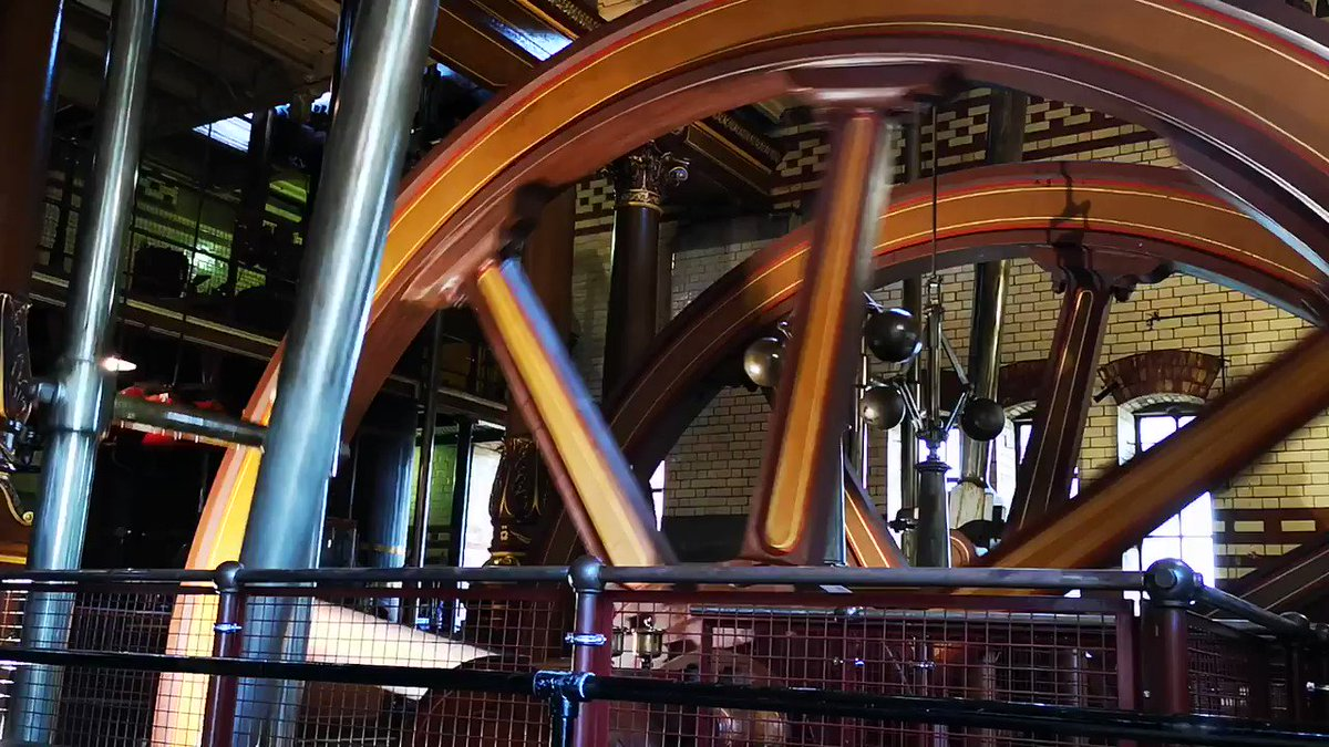 #Leicester's Abbey Pumping Station is offering guided tours of its engine house tomorrow (Saturday 30 Nov) – which means you can look behind the scenes and get up close to a magnificent beam engine in full steam! Tickets £5. More details here: bit.ly/2KSQyNm