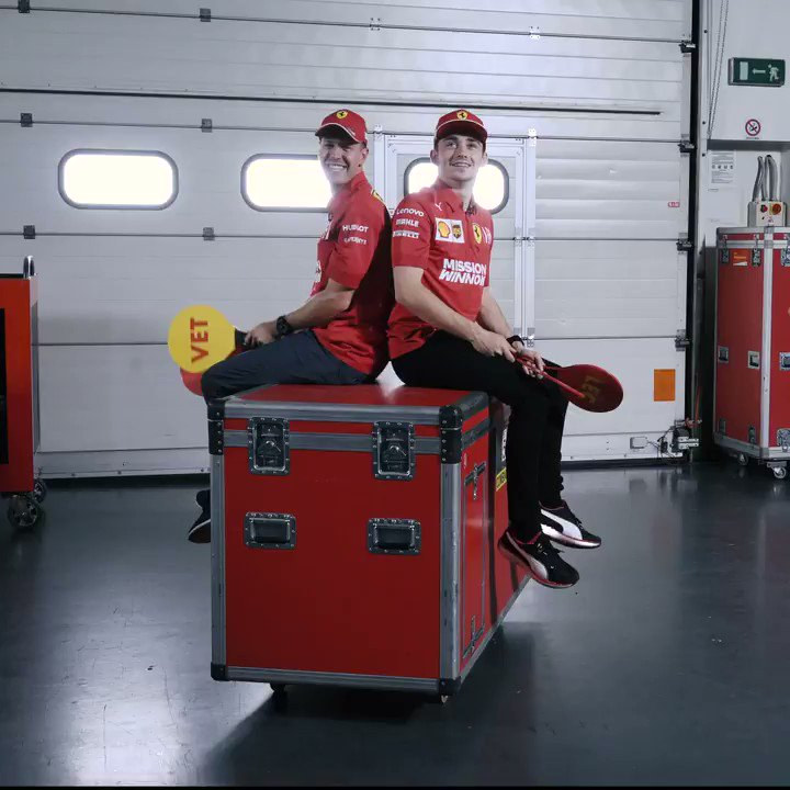 Episode 1 of our new challenge series between Seb & Charles! Just how well do these @scuderiaferrari teammates know each other? 😅 🤔