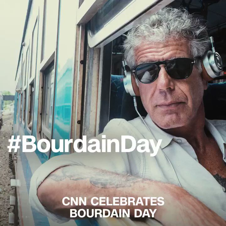 @CNN's photo on #BourdainDay