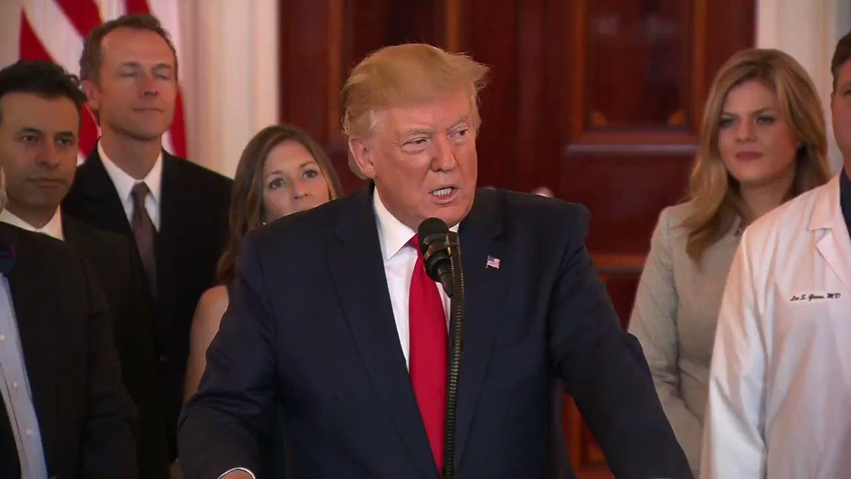"President Trump: ""ObamaCare doesn't work but it works at least adequately now."""