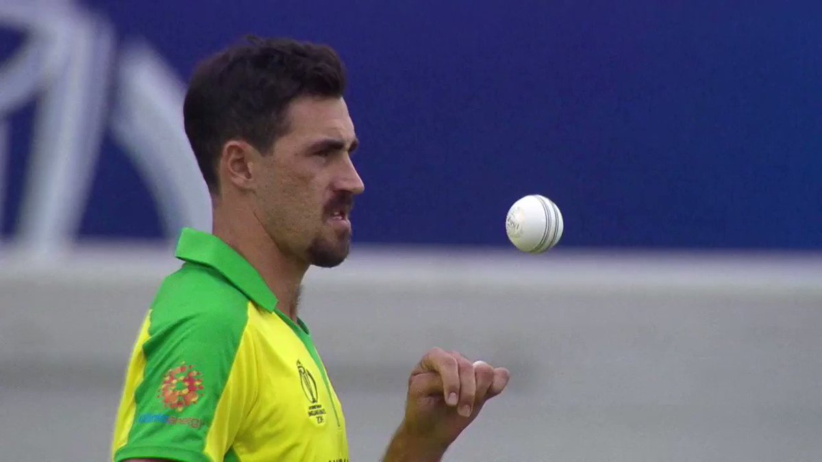 He tried to become a wicket-keeper but ended up being one of the most feared fast bowlers in the world. Mitchell Starc has already lit this #CWC19 on 🔥 How many wickets will he end up with?