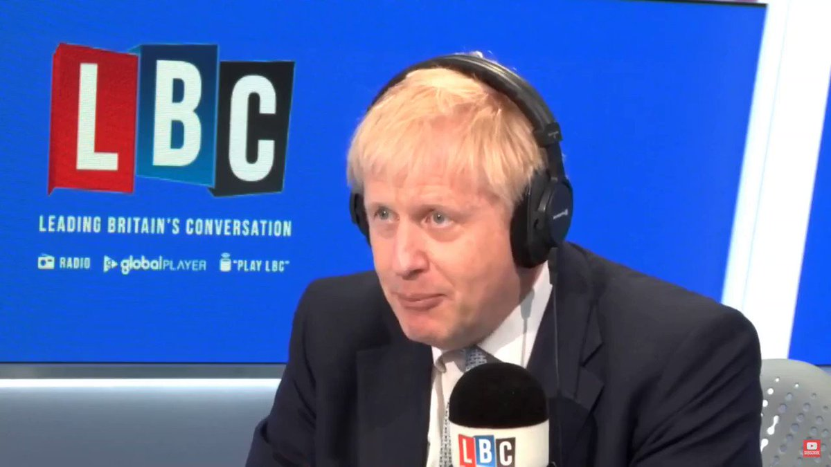 ".@BorisJohnson ""What you can't do is unilaterally use a GATT 24 solution, but what you could do is agree with our EU friends and partners to go forwards together on that basis... It's time this country frankly, stopped being so down about its ability to get this thing done."""