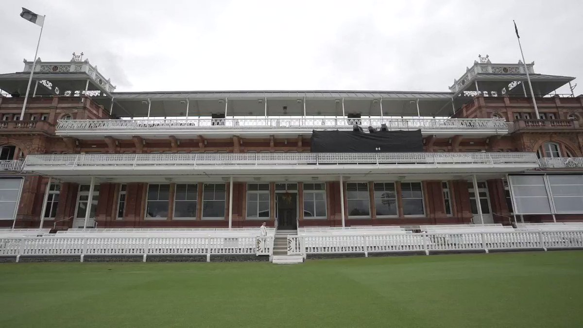 During the #ENGvAUS interval, why not watch @elmakapelma tour round the Lords pavilion, and hear all about the history of the @HomeOfCricket #CWC19