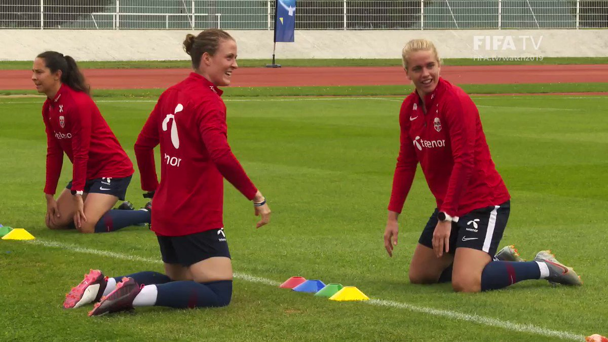 #NOR reflexes on point ahead of #NORENG 👌@FIFAWWC_NOR | #FIFAWWCTV listings 👉http://fifa.tv/watch2019