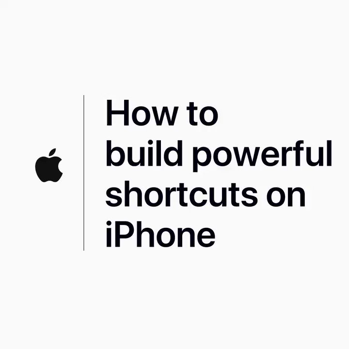Multiple actions, across multiple apps, all rolled up into one convenient shortcut.   For tips and advice on using the Shortcuts app to build powerful shortcuts, check out our YouTube video: https://apple.co/2x9RLbM