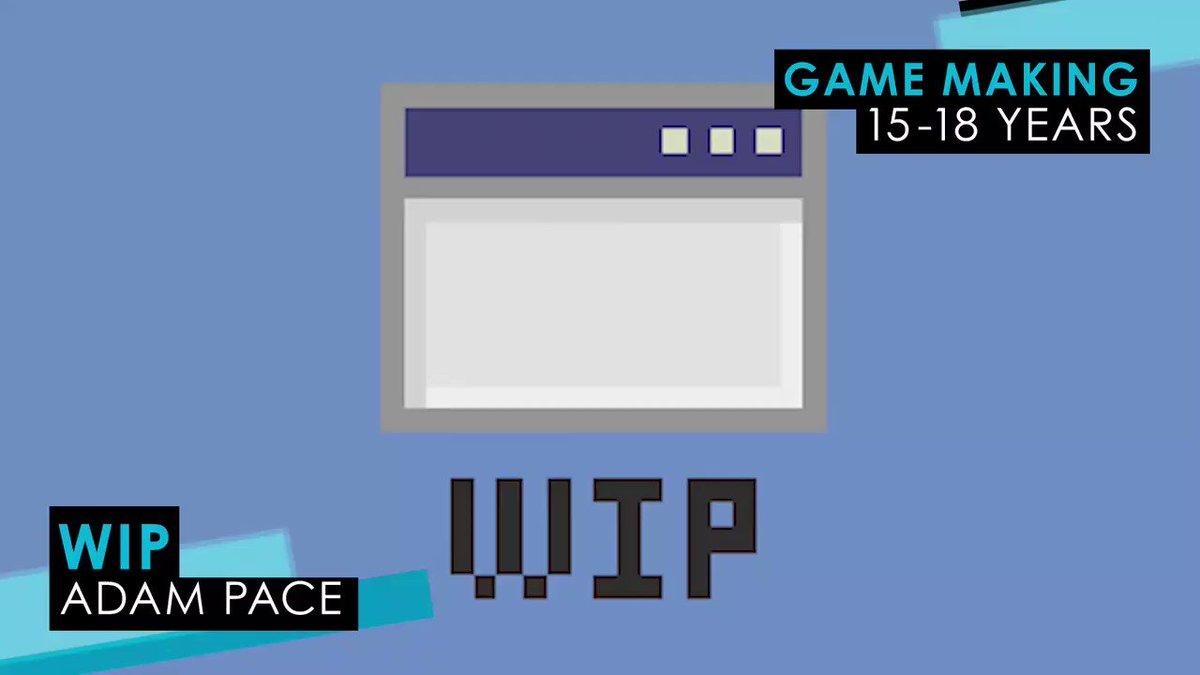 Congratulations to Adam Pace, winner of the Game Making 15-18 award, for his beautiful game Wip 👻🎮👏 #YGD2019