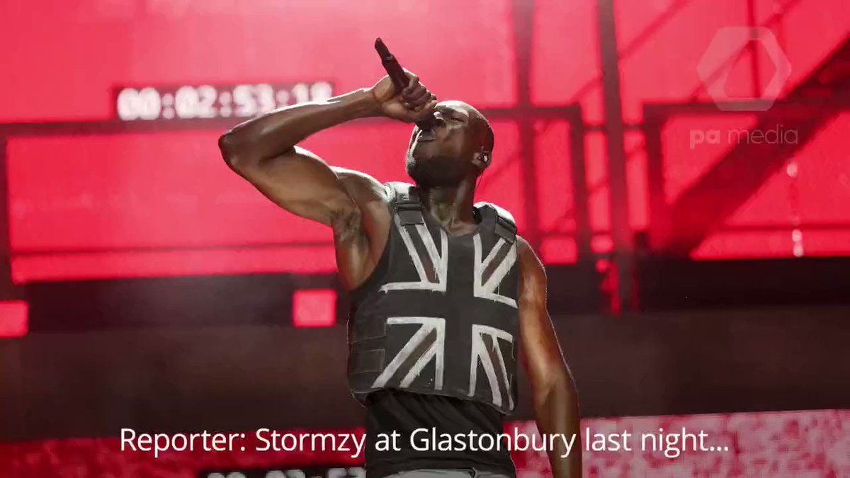"""This is the moment Boris Johnson claimed Stormzy actually said """"back Boris"""" during his Glastonbury performance"""