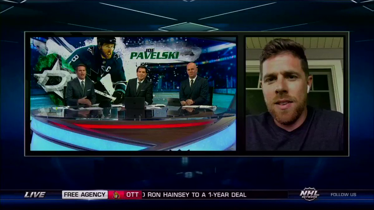 If we were going to be leaving San Jose, we wanted to go to a contender, a team we really respected. - @jpav8