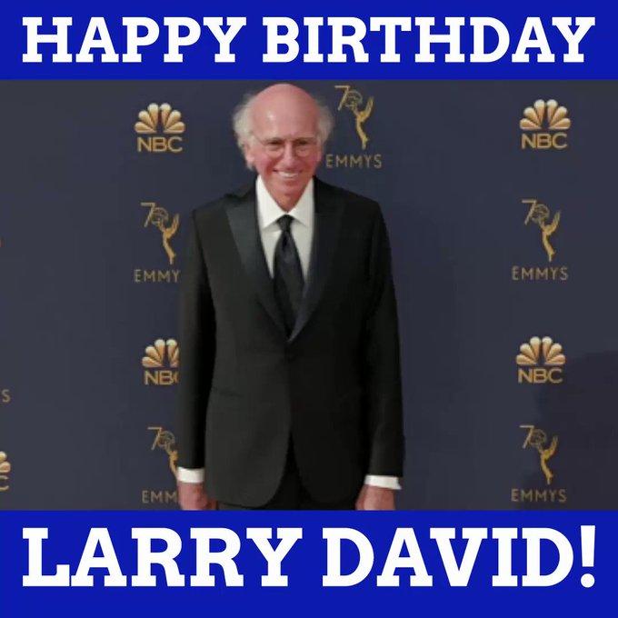 Happy birthday, Larry David!